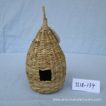 Weaving Sea Grass Bird Cage